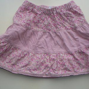 Pink Tiered Skirt Girl 1.5 to 2
